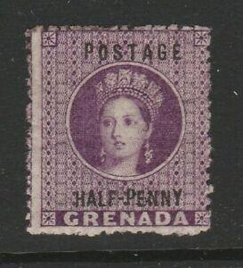 Grenada 1881 ½d Deep mauve SG 21 Mint.