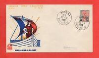 FDC - 1959 - Marianne à la nef  (756)
