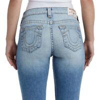 True Religion Women's Bootcut Super Stretch Jeans in Aura Quartz