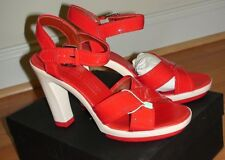 NEW MARC by MARC JACOBS RED PATENT LEATHER SHOES sz. US 8  IT 38