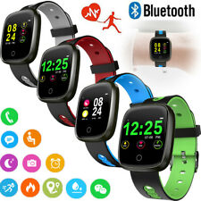 Bluetooth SmartWatch Heart Rate Monitor Fitness Tracker for Samsung iPhone ASUS
