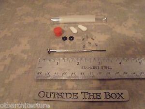Emergency/Survival:  11 Pc Eyeglass Repair Kit w/Tube, Screwdriver, Screws MORE