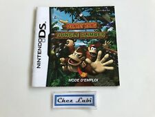 Notice (Sans Jeu) - Donkey Kong Jungle Climber - Nintendo DS - PAL FRA