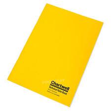 Chartwell Nota técnica de A4 libro papel de Cuadrícula Cuadrado 5mm Portátil Escuela Oficina