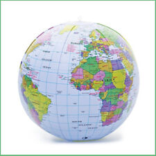 Educational toys ebay bow up globe 40cm world map atlas earth education inflatable toy ball party gift gumiabroncs