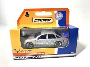 "Vtg 1:64 Holden Commodore - ""Sydney 2000 Olympics Torch Relay Car"" Matchbox New"