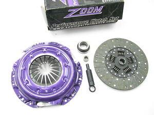 """Zoom 30006 Performance Clutch Kit 11"""" Diameter X 1-1/8"""" X 10T Spline 379 Ft/lbs"""