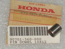 1974-1978 Honda CR125M MR175 CR MT 125 Elsinore Crankcase Dowel Pin (10x12) NOS