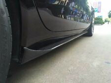 JAGUAR X260 XF XFR XFR-S stile vera fibra di carbonio SINISTRA DESTRA Gonne 2015+