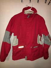 BURTON Tactic Women's Medium Snowboarding Jacket Red