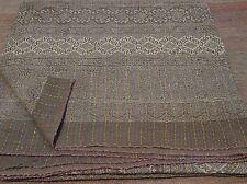 KING Beautiful Kantha King Size Quilts Throw Blanket Reversible Quilt 007