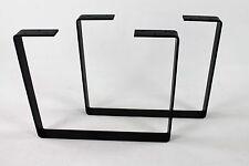 Industrial Metal Coffee Table Legs Powdercoated Steel Modern DIY Iron Salvage