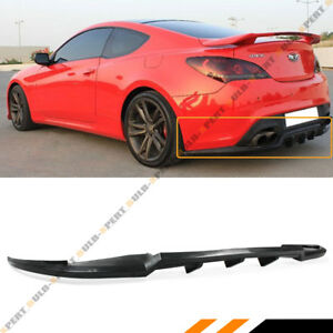 KS Style Front Bumper Lip For Hyundai Genesis Coupe 2013-2016 HYGE13KSFAD PULips