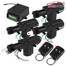 Central 24 Door Power Lock Unlock Kit Keyless Control Remote Entry System