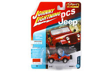 JOHNNY LIGHTNING  JEEP CJ-5 1/64 DIECAST CAR MANDARIN ORANGE JLCP7107 A