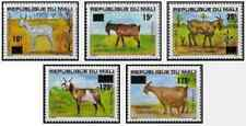 Timbres Animaux Ovins Chèvres Mali 494/8 ** (32646A)