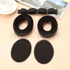 Headphone Earpads Foam Pad Headband for Sennheiser HD545 HD565 HD580 HD600 HD650