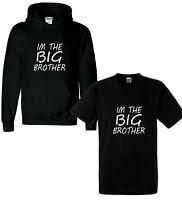 I'm The Big Brother Funny Kids Boys T-Shirt Tee Boys Hoody Childrens Bro Top