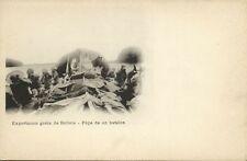 bolivia, RIO MADERA, Exportacion Goma de Bolivia, Popa de un Batelon (1899)