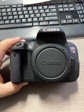 Canon EOS Rebel T5i / EOS 700D 18.0MP Digital SLR Camera - Black (Body Only)