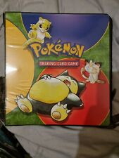 More details for official pokemon binder vintage all cards included holo/1st edition 1999 wotc