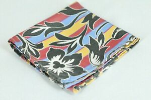 Lord R Colton Masterworks Tripoli Gray & Yellow Silk Pocket Square - $75 New
