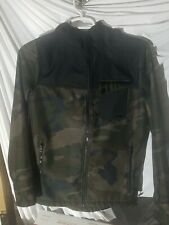 Snowboard Jacket Men's Small Aperture bonded fleece camo and blacl