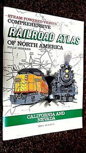 SPV'S COMPREHENSIVE RAILROAD ATLAS OF NORTH AMERICA: CALIFORNIA AND NEVADA (1994