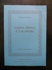 Cesare Angelini Carta Penna e Calamaio Anastatica Logos 1986 Torre d'Isola
