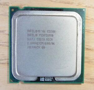 Intel Pentium Dual Core E5500 2.80 GHz FSB 800 SLGTJ So. 775 Wolfdale + Händler