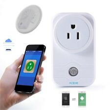 Remote & Voice Control Home WiFi Smart Socket Wireless Timer Switch Outlet Plug