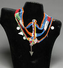 Massai Beaded Head Piece - Kenya - African Tribal Arts