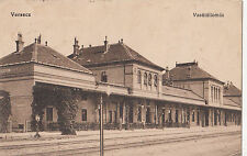 B78880 vrsac versecz train station serbia  front/back image