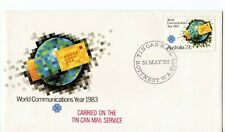 1983 Australia World Communications Year (tin can mail service) Souvenier cover