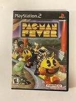Pac-Man Fever PlayStation 2 ps2 with manual, game and case 4 player party game