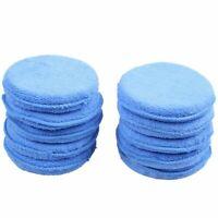10x Car Waxing Polish Microfiber Foam Sponge Applicator Cleaning Detailing Pads!