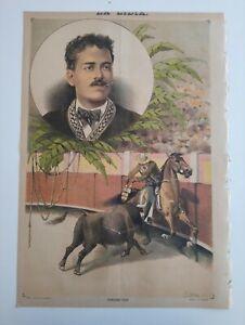 1889 La Lidia Revista Taurina VIII Núm 17 Ponciano Díaz Toros Corrida Torero