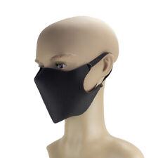 Mund-Nase-Maske aus Nano-Stoff, waschbar, schwarz, dunkelblau