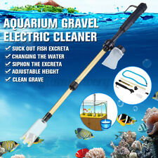 Electric Siphon Vacuum Cleaner Water Filter Pump Kit Aquarium Fish Tank Cleaner