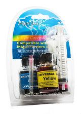 HP 11 HP11 Colour Printer Ink Cartridge Refill Kit - HP11 Inkjet refill inks