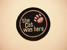 """Vintage Arctic Cat """"The Cat Was Here"""" Patch"""
