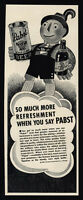 1937 PABST Export  Beer - Can or Bottle - Art - VINTAGE AD