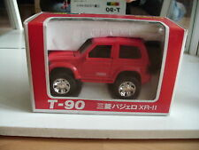 Yonezawa Diapet Mitsubishi Pajero XR-II in Red on 1:43 in box