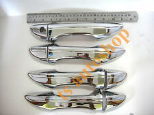 RIGHT DRIVER KEY CHROME 4DOOR HANDLE HAND COVER NEW TOYOTA COROLLA ALTIS 2014 V2