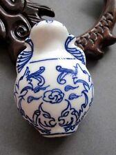 1Pcs Happy Lucky Phoenix Ceramics Porcelain Vase 2Faces Bead Finding