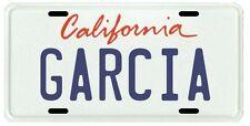 Jerry Garcia The Grateful Dead California License Plate