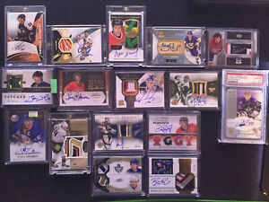 The Cup OPC SP Panini Ultimate High End Card Lot HOF & RC Players Auto Patch #'d