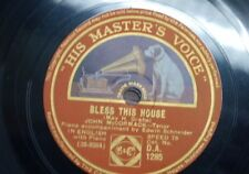 78 rpm JOHN McCORMACK bless this house / once in a blue moon