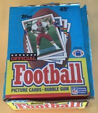 1989 Topps Football Trading Cards Wax Box