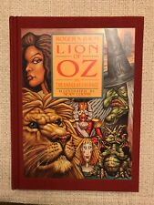 LION OF OZ & BADGE OF COURAGE 1st Edition Signed Roger Baum & TOTO Too